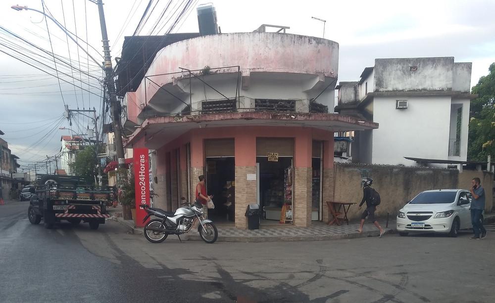 A padaria e as memórias do autor/Foto: Paulinho Freitas