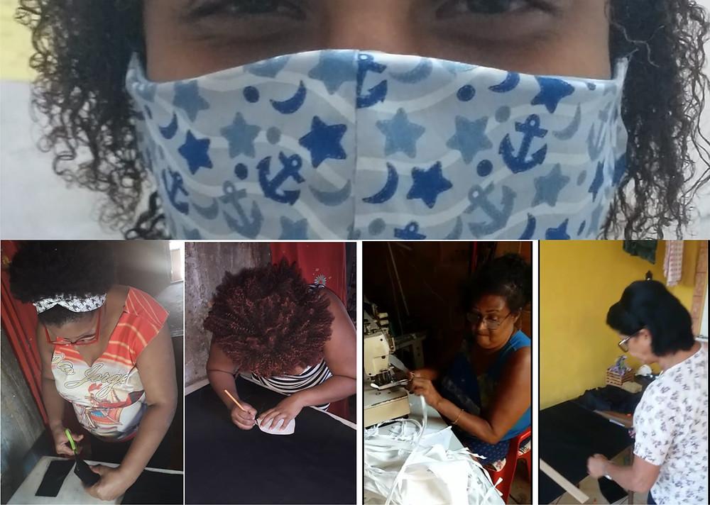 Mulheres solidárias/Foto: Arte JornalDaki