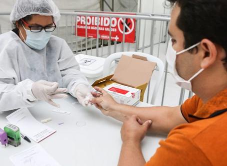 Maricá tem capacidade para 1.500 testes rápidos diários para Coronavírus