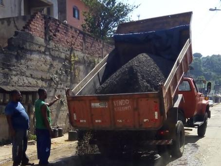 Prefeitura de São Gonçalo segue com manutenção nos bairros