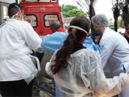 Incêndio em ala de Covid-19 deixa um morto em hospital de São Gonçalo