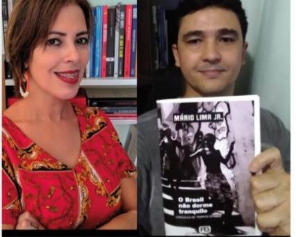 Yonara Costa recebe Mário Lima Jr. no Escritores Vivos