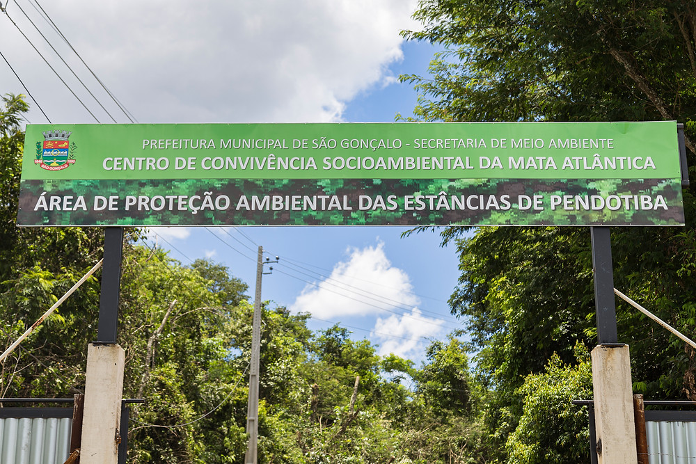 Entrada da APA de Pendotiba/Foto: Divulgação