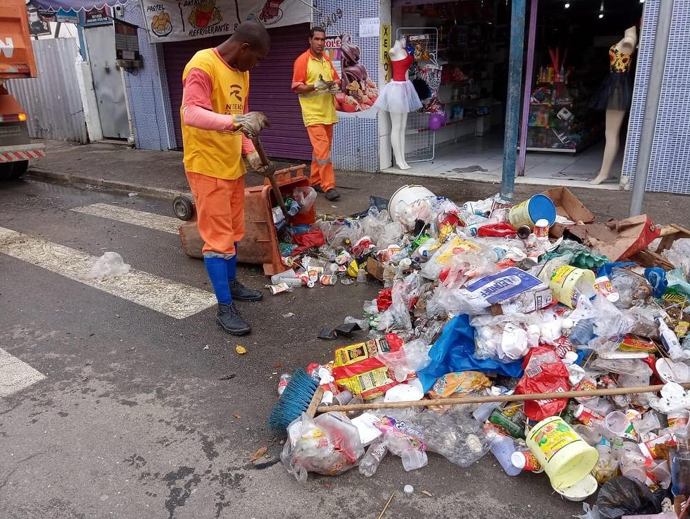 Garis trabalharam todos os dias em São Gonçalo e em Niterói/Foto: Divulgação