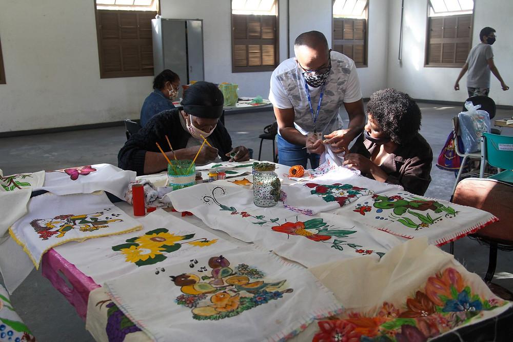 Cras de Venda da Cruz possue diversas atividades/Foto: Divulgação
