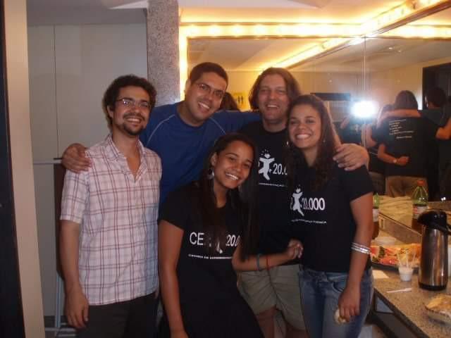 Rafael Massoto, Zarvos e organizadores do CEP em evento no SESC/SG