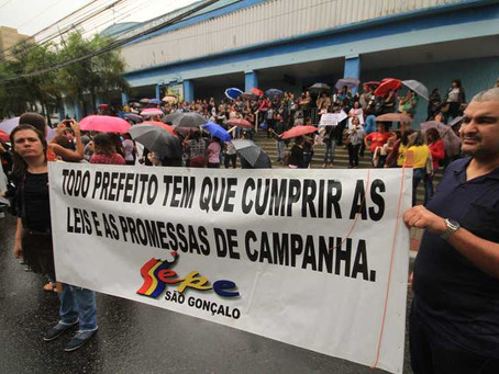 Professores mantém estado de greve em São Gonçalo