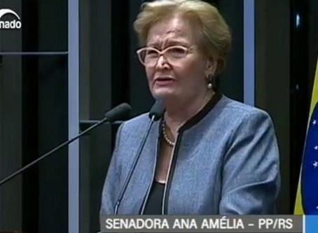 Senadora Ana Amélia não é apenas uma imbecil, é mau caráter mesmo
