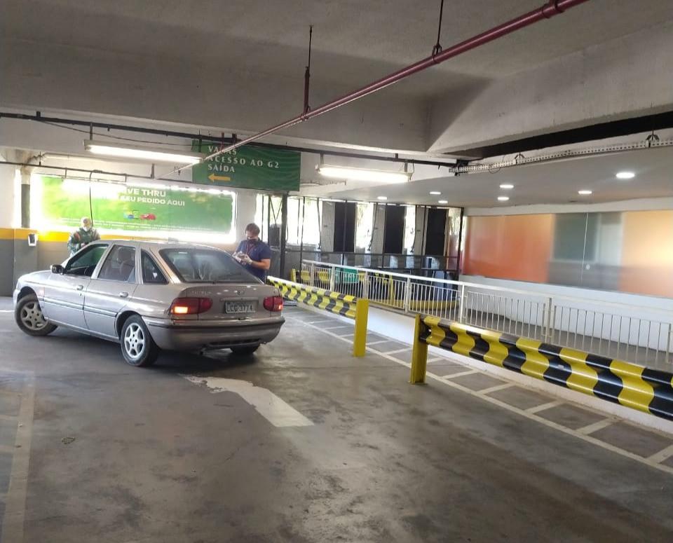 O cliente vai adquirir o produto sem sair do veículo em nenhum momento/Foto: Divulgação