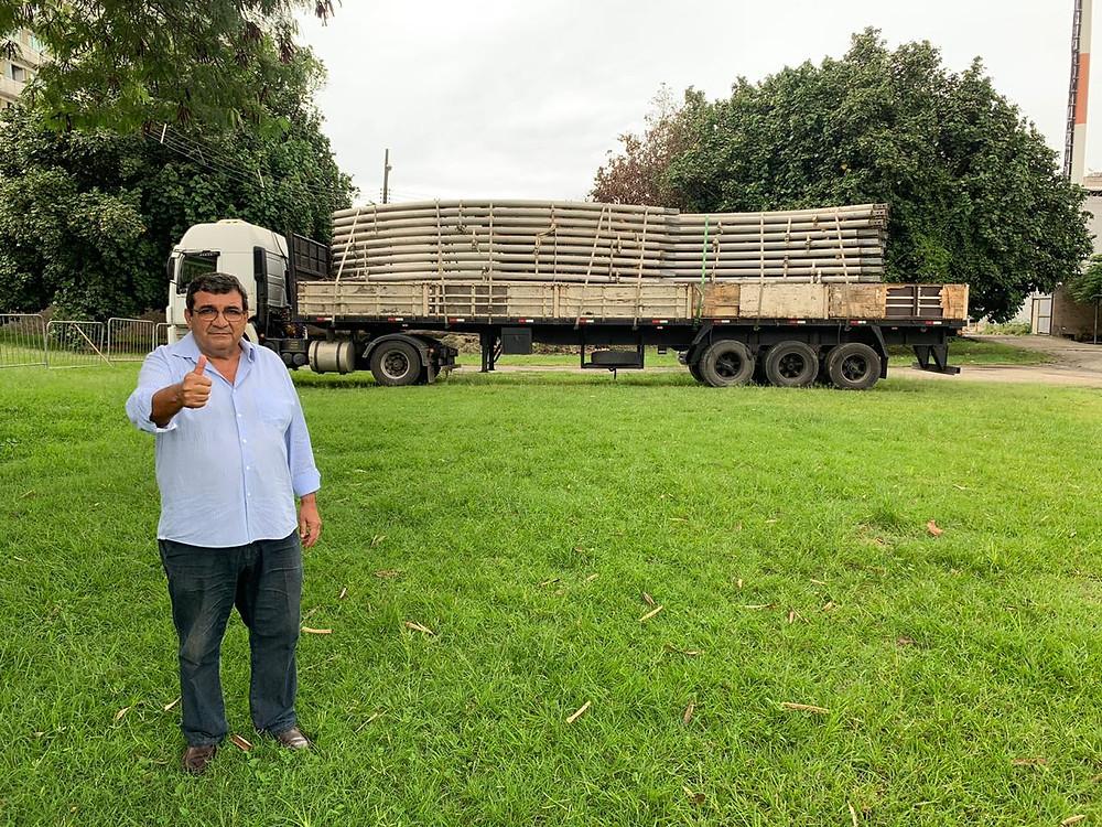 Hospital seria construído no Colubandê, mas prefeito Nanci (foto) voltou atrás/Divulgação