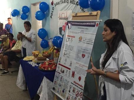 Saúde realiza atividades pelo combate a hipertensão em São Gonçalo