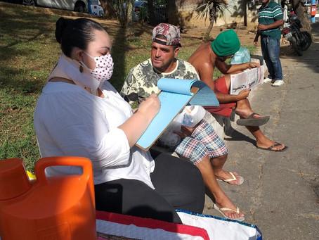 GESP 'chega junto' com doação de alimentos no Zé Garoto e precisa de você