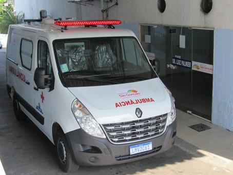 Saúde garante cinco ambulâncias para o município