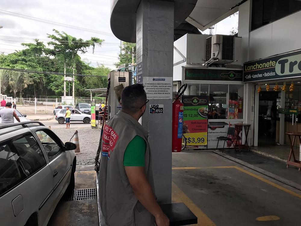 Postos fiscalizados estavam regulares/Foto: Divulgação