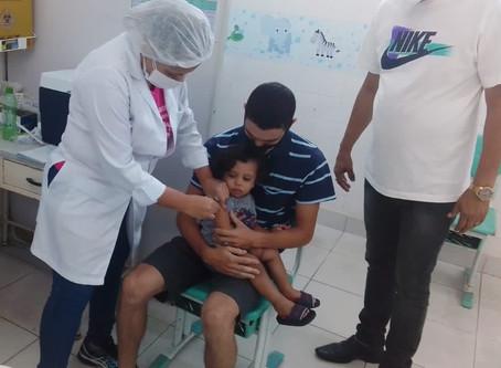 Dia D imuniza 15 mil crianças em São Gonçalo