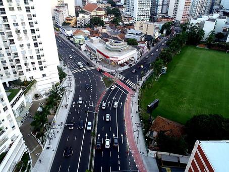 Marquês do Paraná já pode receber motoristas, pedestres e ciclistas