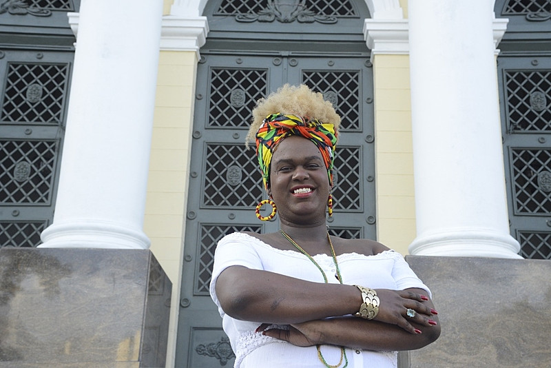 Vereadora eleita, Benny terá o desafio de ampliar o debate de raça, classe e gênero na Câmara de Niterói - Foto: Rafael Lopes