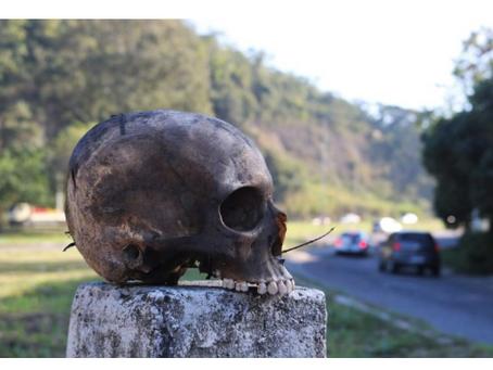 A caveira totem de Tribobó, por Erick Bernardes
