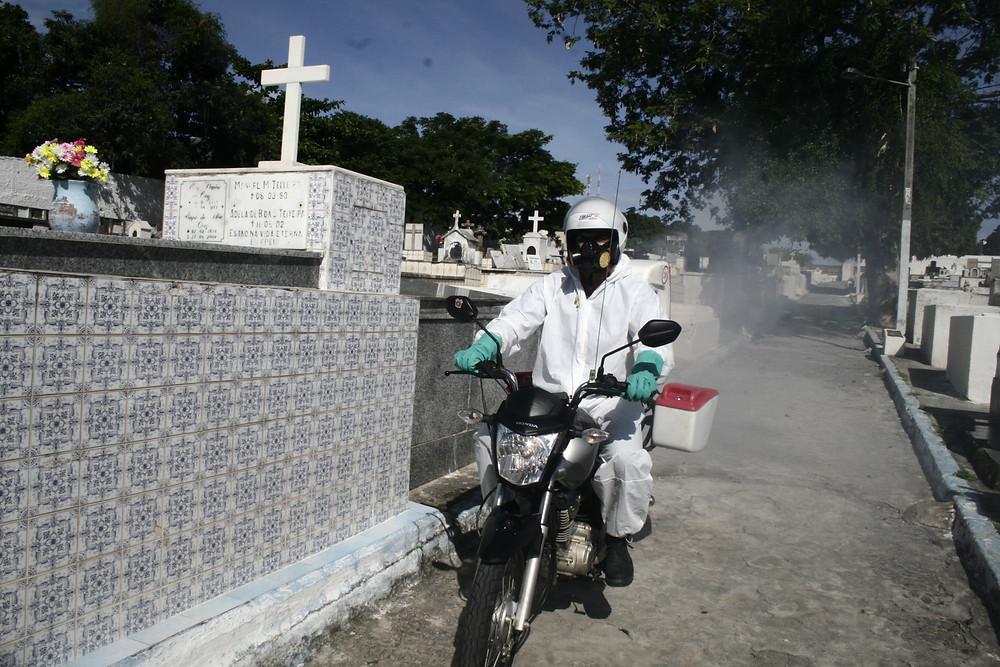 Os cemitérios passarão por processo de sanitização/Foto: Divulgação