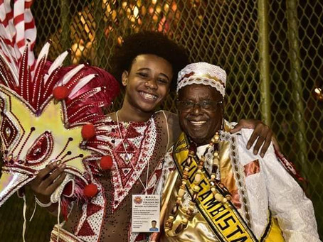 Baluarte Esticadinho: Um Griot. Uma entidade do Samba, por Oswaldo Mendes