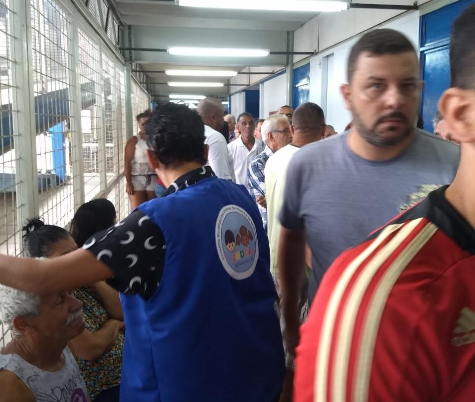 CIUG, no Gradim, foi um dos sete centros de votação/Foto: Jornal Daki