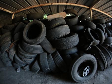 São Gonçalo possui serviço de coleta de pneus usados