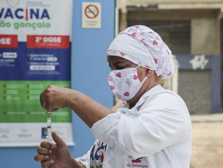 São Gonçalo em tendência de queda nos casos de covid-19, diz Secretaria de Saúde
