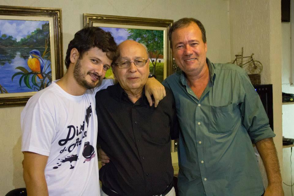 Renato Cardoso, J. Sobrinho e Fábio Hartmann