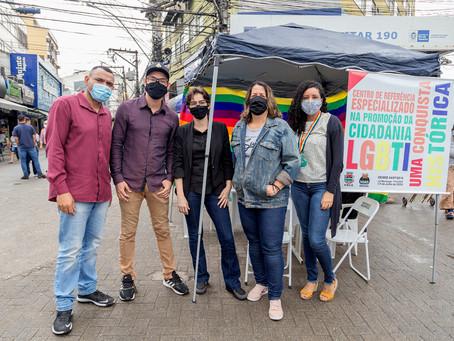 'Centro LGBTI+ Itinerante' oferece atendimento no Alcântara