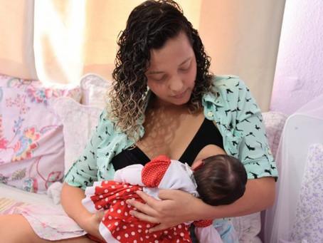 Maricá celebra o Agosto Dourado pelo aleitamento materno