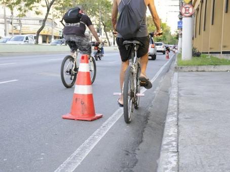 Abaixo-assinado pede estrutura cicloviária na Marquês do Paraná