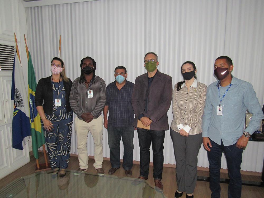 Reunião foi realizada no Gabinete do prefeito/Foto: Divulgação