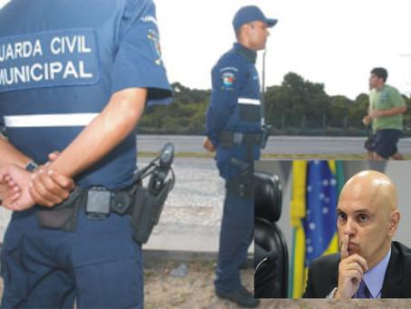Ministro do STF libera porte de armas para guardas minicipais