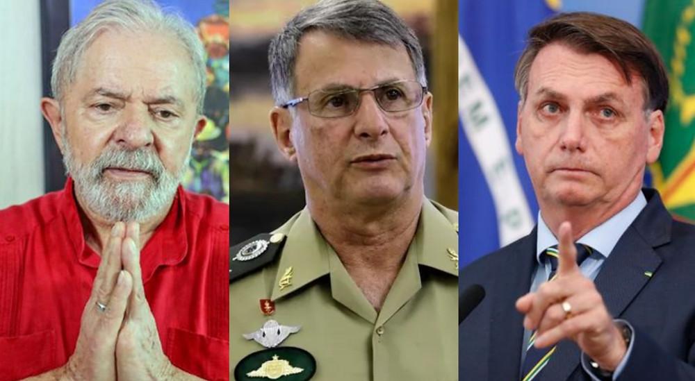 Ex-presidente Lula , Edson Pujol e Jair Bolsonaro/Foto: Reprodução Internet