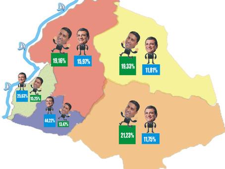 Dejorge venceu Nanci em 3 dos 5 distritos de São Gonçalo