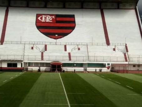 O estádio do Flamengo, por Victor Machado