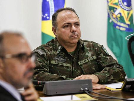 Brasil terá mais de 3 mil mortes diárias por Covid em março, reconhece assessoria de Pazuello
