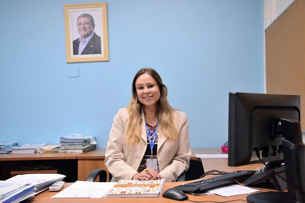 Yamara Afradique, ex-secretária de Administração