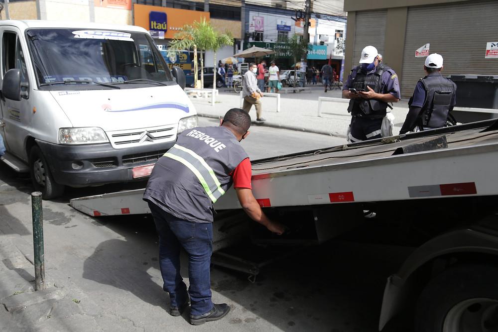 Reboque foi acionado/Foto: Divulgação
