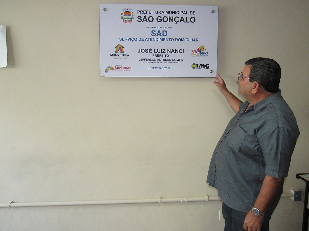 Para prefeito José Luiz Nanci, serviço de desospitalização pode melhorar qualidade de vida dos pacientes em recuperação/Foto: Divulgação
