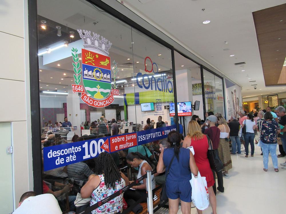 Posto de atendimento ficará no Partage Shopping/Foto: Divulgação