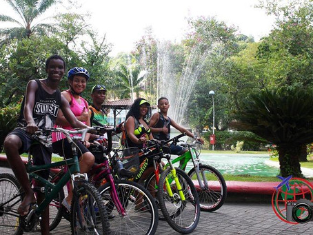 APA do Engenho Pequeno recebe passeio ciclístico