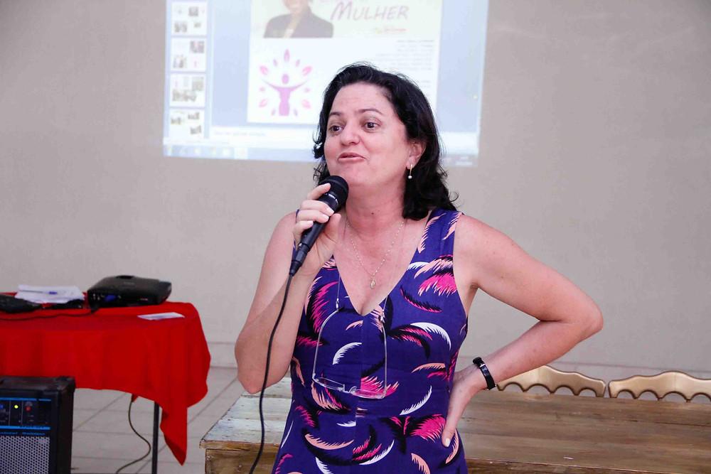 Eliane Gabriel Nanci foi internada com Covid-19, teve alta e voltou às atividades/Foto: Divulgação