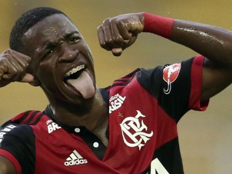 Vinícius Jr é o futebol arte! E onde jogar futebol em São Gonçalo? Por Victor Machado