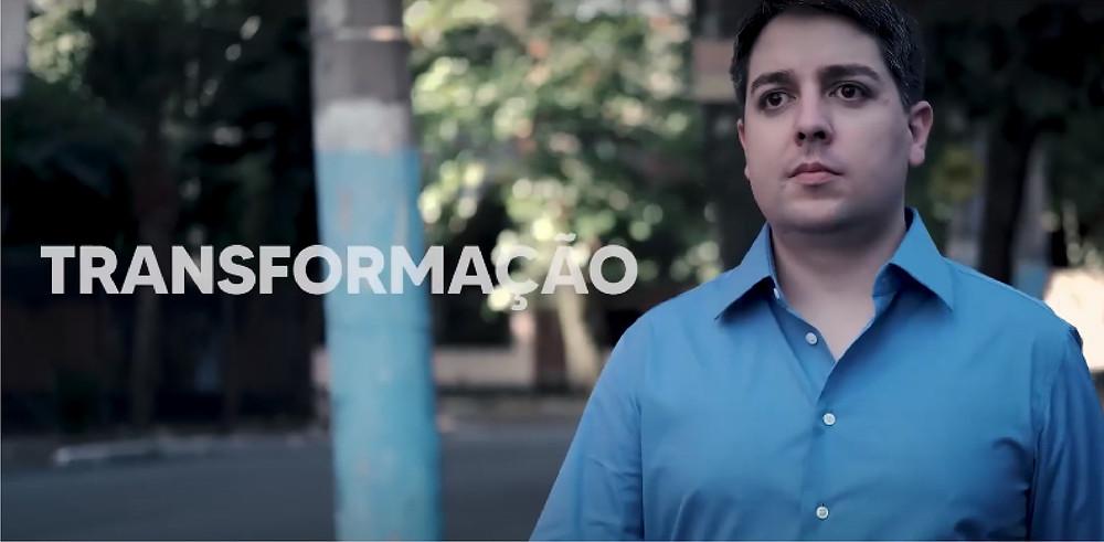 Ricalde participou de vídeo promocional no lançamento da plataforma/Reprodução