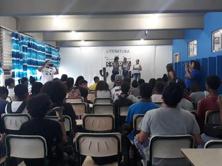 'Projeto Cordel na Escola' é destaque no CIEP Vital Brazil