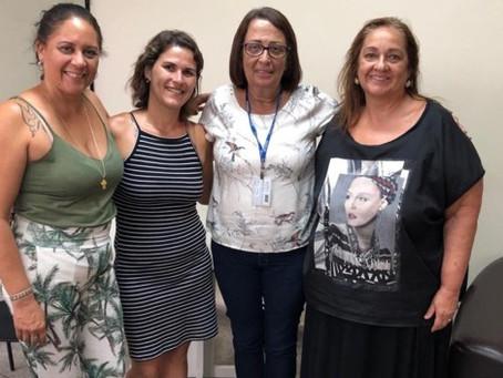 Jovita, mãe de Priscila Belfort, visita Desenvolvimento Social de SG