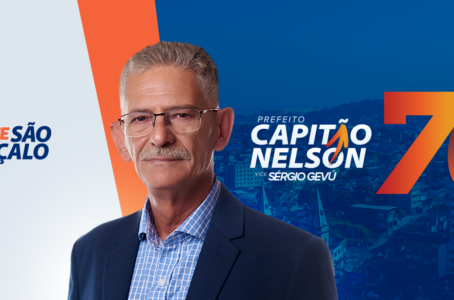 Capitão Nelson quer combater desigualdade sem apresentar propostas