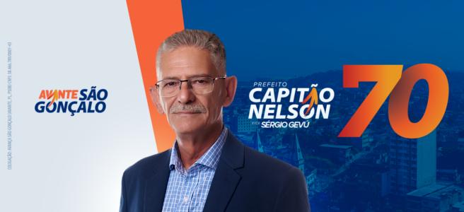 Banner digital de campanha do candidato/Divulgação