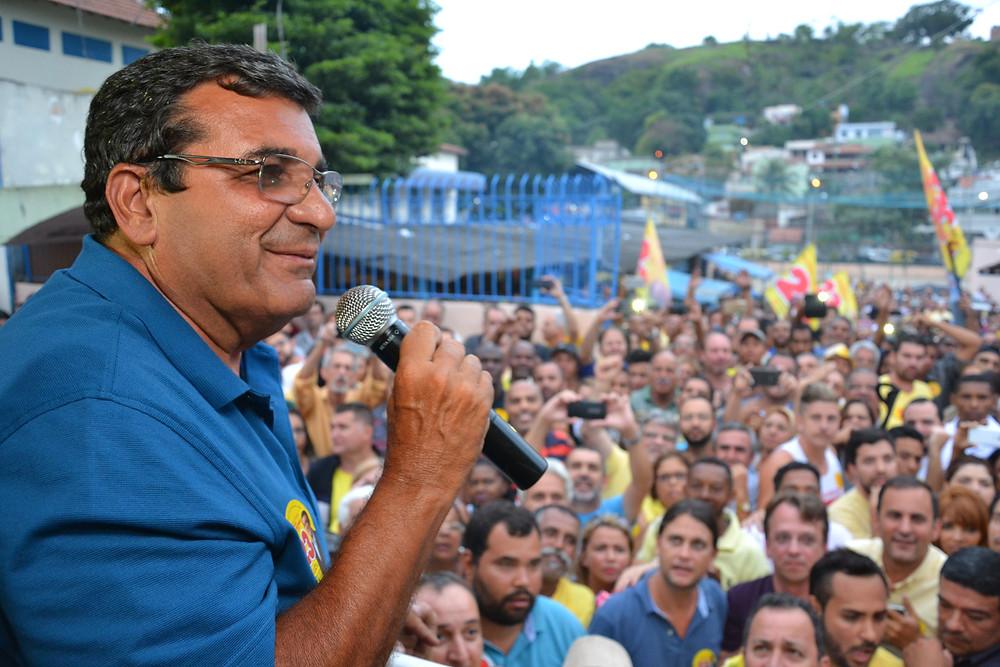 Nenci em discurso em 2016/Foto: Divulgação